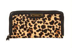 Tendencia dress for less estampado de leopardo: Cartera de Nine West