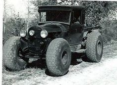 Old school mudder...oh my redneck side. I really love this, scares me how much. Lol