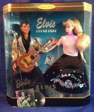 Mattel Barbie Loves Elvis 1997