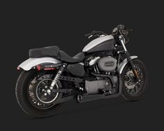 VANCE & HINES COMPETITION SERIES 2-INTO-1 BLACK
