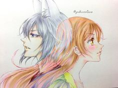Kamisama hajimemashita One best romance anime.. Tomoe and nanami,their love...seeing that anime ended..is breaking my heart...