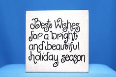 """""""Best Wishes For A Bright..."""" Slogan JRL Designs Wood & Foam Backed Rubber Stamp              http://autopartspuller.com/ Great Sale 50% off entire store!! Copper, Glassware, Wood Crafts, Scrap Booking   Also Find us on:  http://hometownvintage.com http://autopartspuller.com @HomeTownVintage @autopartspuller @preppershowto http://facebook.com/hometownvtg http://facebook.com/AutoPartsPuller"""