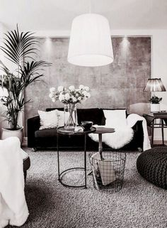 48 Black And White Living Room Ideas 3 Interior Design And Space