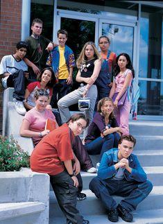 Degrassi TNG: season one cast pic