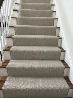 Carpet Cleaning Tips. Discover These Carpet Cleaning Tips And Secrets. You can utilize all the carpet cleaning tips in the world, and guess exactly what? You still most likely can't get your carpet as clean on your own as a pr Basement Carpet, Carpet Stairs, Carpet Runner On Stairs, Wall Carpet, Runners For Stairs, Carpet Decor, Staircase Runner, House Staircase, Staircase Remodel