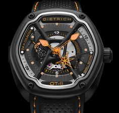 """New Dietrich OT Watch Styles & Price Cuts - by Patrick Kansa - on aBlogtoWatch.com """"When I had some hands-on time with the Dietrich OT-3 back in June, I rather liked what I saw. It was a unique case shape, of course, combined with some other organic and architectural elements that really gave it a distinctive look. Since then, the brand has introduced some models and changed pricing on the whole lineup, so we thought it would be worthwhile to gather that all in one place for you..."""""""