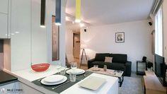 Envie de déjeuner ou de dinner dans cette superbe cuisine design ? C'est possible sur 1000et1Paris.com réservez cet appartement pour vos vacances à Paris ! #1000et1Paris #1001Paris