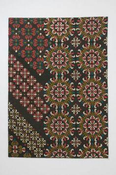 $298 NIP Anthropologie 2 5' x 9' Adiabatic Rug Crewel Wool Free Shipping   eBay