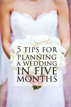 Sunkissed Sophisticate | the friday five: tips for planning a wedding in 5 months | wedding, wedding planning, wedding tips, how to plan a wedding in 5 months, plan a wedding in 5 months #weddingplanning #wedding #shortengagement
