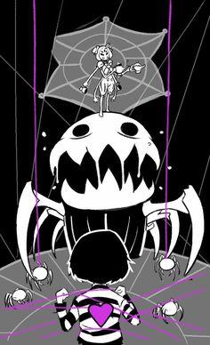 Spider dance | Frisk | Muffet