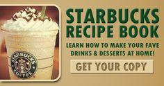 Get the Ultimate STARBUCKS Coffee Recipe Book