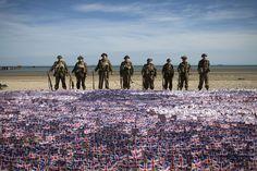 70 jaar na D-Day: de wereld herdenkt in Normandië - In beeld
