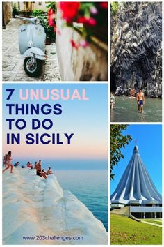 7 unusual and unique things to do in Sicily, Italy Travel tips 2019 Locals say that Sicily is not Italy, and from the very first step you'll discover that what you see on this island is not what you'd expected. Of course, there are the Sicily Travel, Italy Travel Tips, Rome Travel, Travel Destinations, Catania Sicily, Sicily Italy, Noto Sicily, Cefalu Sicily, Messina Sicily