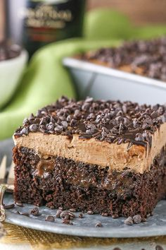 This Baileys Chocolate Poke Cake is made with a moist Baileys chocolate cake soaked in more chocolate and Baileys Irish Cream! It's topped with fresh Baileys whipped cream for a treat that you won't want to stop eating! This is a cake that I will definitely need to make again. As with everything else you …