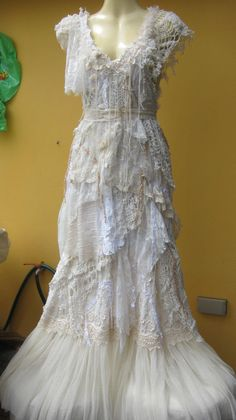 wow, crochet, tablecloths, doilies, tulle and more.