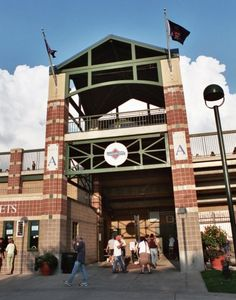 Principal Park, Home of the Iowa Cubs, Des Moines, IA ... AAA affiliate of the Chicago Cubs.