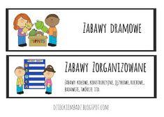 Dzieckiem bądź: Ilustrowany plan dnia DO POBRANIA How To Plan, Education, Comics, Logos, Google, Logo, Cartoons, Onderwijs, Learning