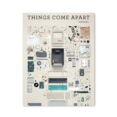 In Things Come Apart, fifty design classics – arranged by size and intricacy – are beautifully displayed, piece by piece, exploding in midair and dissected in real-time, frame-by-frame video stills. Welcome to Todd McLellan's unique photographic vision of the material world.