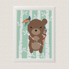 Modern Animals Cross Stitch Pattern от AnimalsCrossStitch на Etsy