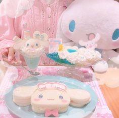 cuteness, cutest, and kawaii image Baby Pink Aesthetic, Aesthetic Food, Kawaii Dessert, Kawaii Room, Cute Desserts, Cute Food, Chibi, Retro, Aesthetics