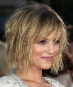 Peachy Bang Hair Good Housekeeping And Eyebrows On Pinterest Hairstyles For Women Draintrainus