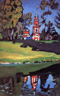 Wassily Kandinsky Red Church