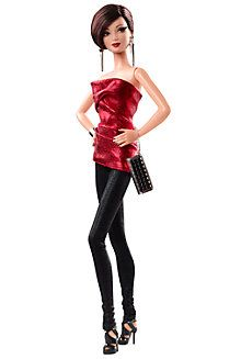 City Shine™ Barbie® Doll—Red Dress  I wanna wear this outfit so bad!