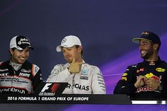 European GP: Post-qualifying press conference