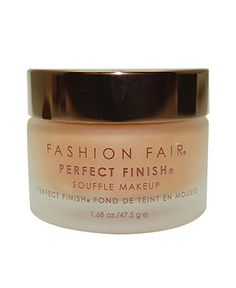 Fashion Fair Oil-Free Perfect Finish Souffle Makeup 1.7 oz - Foundation - Beauty - Macy's