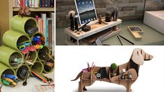 14 Creative & Practical DIY Desk Organization & Storage Ideas ~ Idees And Solutions