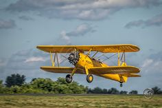 Boeing Stearman Jumps into the Air.  At the bi-annual Fagen Fighters Airshow in Granite Falls Minnesota.  #avgeek #warbird #photography Gazing Skyward TV - Google+