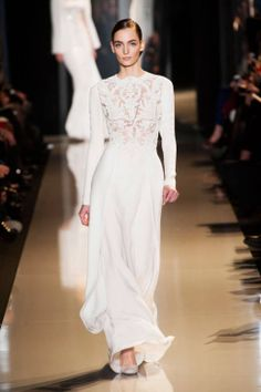 Elie Saab Spring 2013 Couture Runway - Elie Saab Haute Couture Collection - ELLE