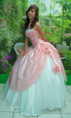 Soft Rose Debutante. $590.00, via Etsy.