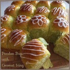 My Mind Patch: Sweet Pandan Pull-Apart Bread