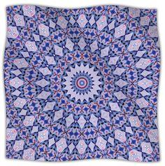 Kaleidoscope Fleece Throw Blanket