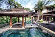 Willie Revillame lives in a resort-like home in Quezon City Willie Revillame, Cebu, Gazebo, Pergola, Quezon City, Celebrity Houses, Tropical Houses, Lanai, Filipino