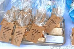 shortbread cookies packaged for a bake sale @katiescucina.com