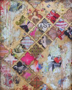 """Patience"", 24x30"", mixed media on canvas, by jill ricci"
