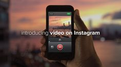 Introducing Video on Instagram. Over the past two and a half years, Instagram has become a community where you can capture and share the wor...