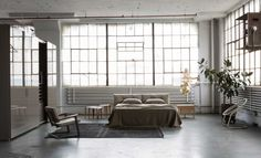 Inside An Incredible Brooklyn Loft Flooded With Contemporary Cool. Home envy.