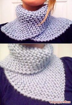 Free knitting pattern for Easy Dissymmetry Neckwarmer Easy Knitting, Loom Knitting, Knitting Patterns Free, Crochet Patterns, Free Crochet, Knit Crochet, Crochet Hats, Crochet Neck Warmer, Diy Scarf