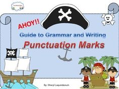 Punctuation Marks #punctuation #period #commas #questionmark Set of posters for each: period, comma, question mark, exclamation point, colon apostrophe and slash. Rules on how to use each and samples for each one. worksheet and games for the students to enjoy. $5.00