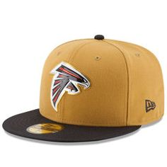 Men's Atlanta Falcons New Era Gold Collection 59FIFTY Fitted Hat - Gold