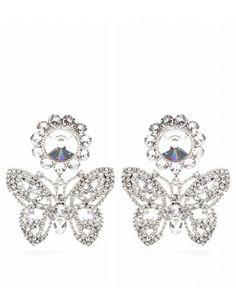 Miu Miu butterfly earrings