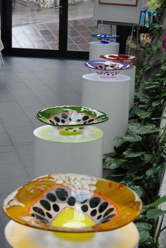 Bowls. Design by MikkalinaGlas. For more see www.mikkalina.com