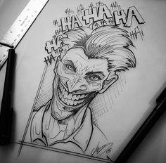 Tattoo Sketches, Tattoo Drawings, Pencil Drawings, Art Sketches, Art Drawings, Dibujos Tattoo, Desenho Tattoo, Marvel Drawings, Joker Art