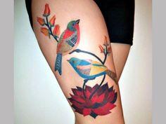 Color birds