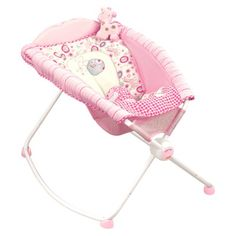 baby Accessories, baby girl sleeper, baby rocker, baby gift, baby shower gift, Fisher Price, infant rocker, infant sleeper, newborn, newborn rocker, newborn sleeper, pink sleeper, Target, Toddler,