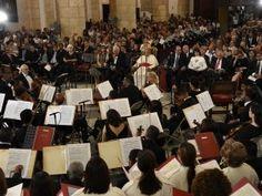 Presentan clásicos de música sacra en emotivo concierto del coro de la Catedral