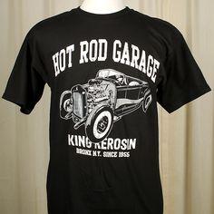 King Kerosin Hot Rod Garage T Shirt